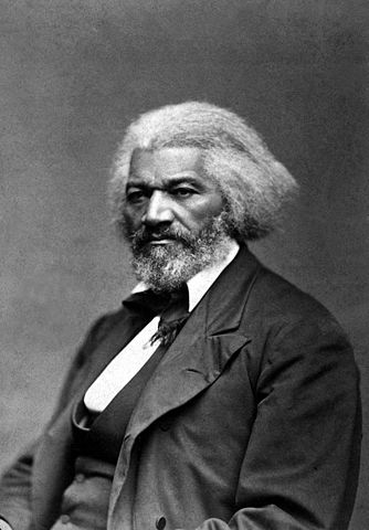 A picture of the author Frederick Douglass