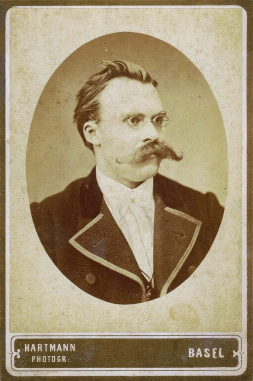 A picture of the author Friedrich Nietzsche