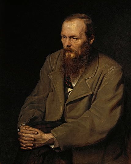 A picture of the author Fyodor Dostoevsky