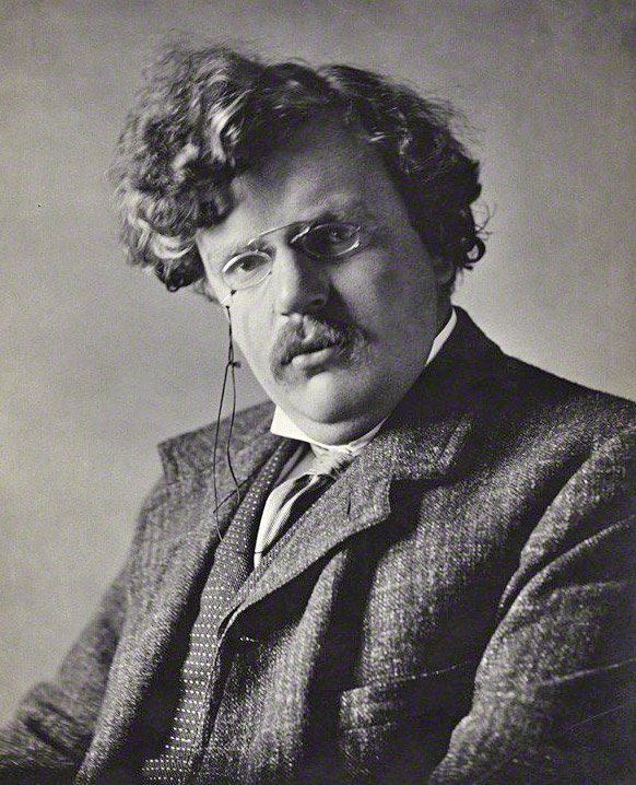 A picture of the author G.K. Chesterton