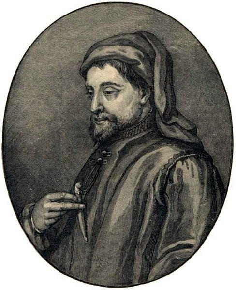 A picture of the author Geoffrey Chaucer