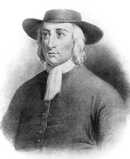A picture of the author George Fox
