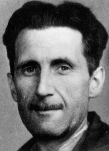 A picture of the author George Orwell