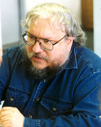 A picture of the author George R.R. Martin