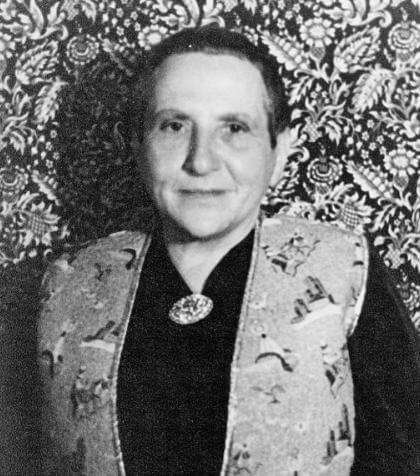 A picture of the author Gertrude Stein
