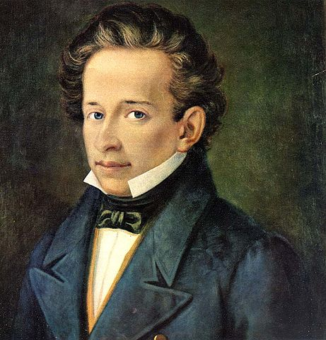 A picture of the author Giacomo Leopardi