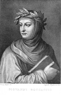A picture of the author Giovanni Boccaccio