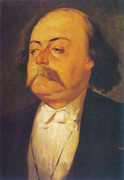 A picture of the author Gustave Flaubert
