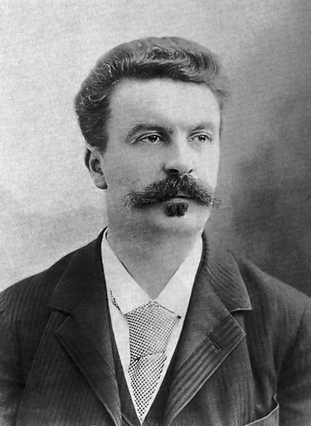 A picture of the author Guy de Maupassant