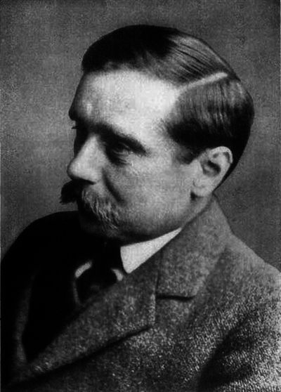 A picture of the author H.G. Wells