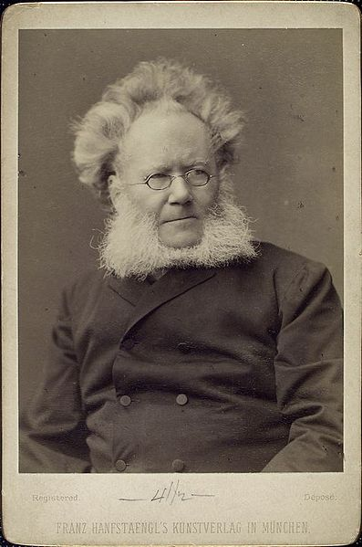 A picture of the author Henrik Ibsen