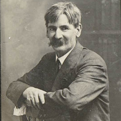 A picture of the author Henry Lawson