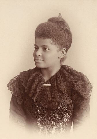 A picture of the author Ida B. Wells
