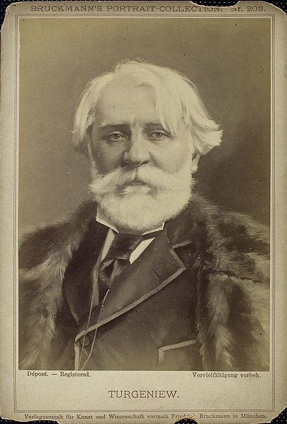 A picture of the author Ivan S. Turgenev