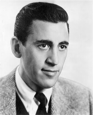 A picture of the author J.D. Salinger