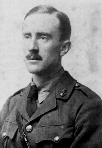 A picture of the author J.R.R. Tolkien