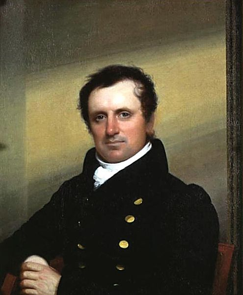 A picture of the author James Fenimore Cooper