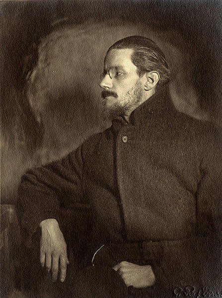 A picture of the author James Joyce