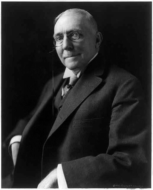 A picture of the author James Whitcomb Riley