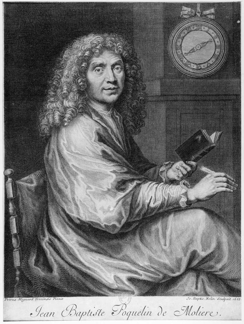 A picture of the author Jean-Baptiste Poquelin (Moliere)
