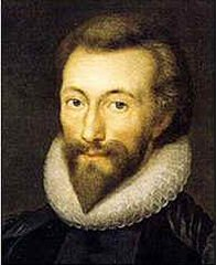 A picture of the author John Donne