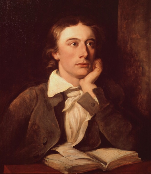 A picture of the author John Keats