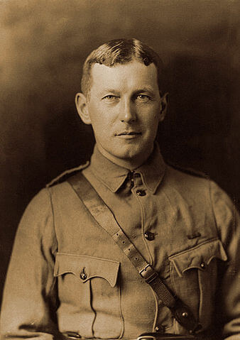 A picture of the author John McCrae
