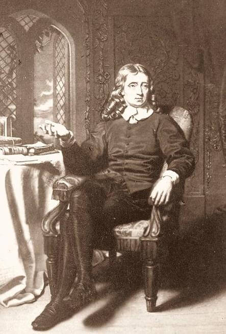 A picture of the author John Milton