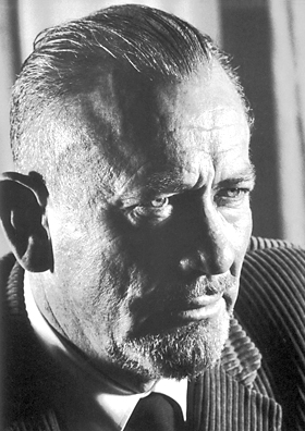 A picture of the author John Steinbeck