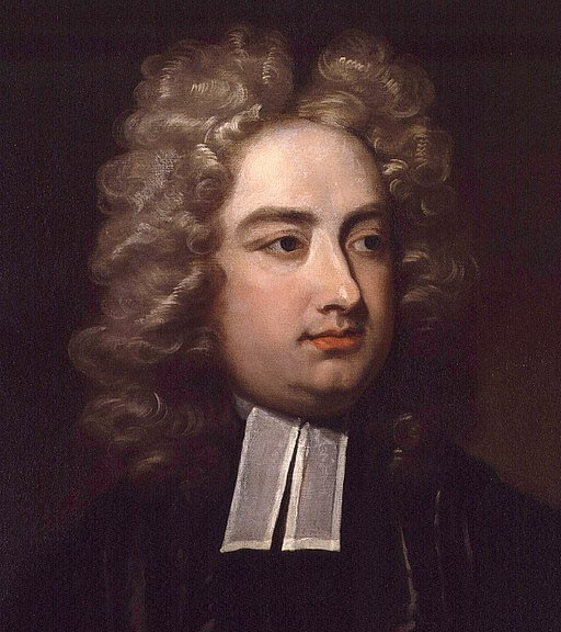 A picture of the author Jonathan Swift