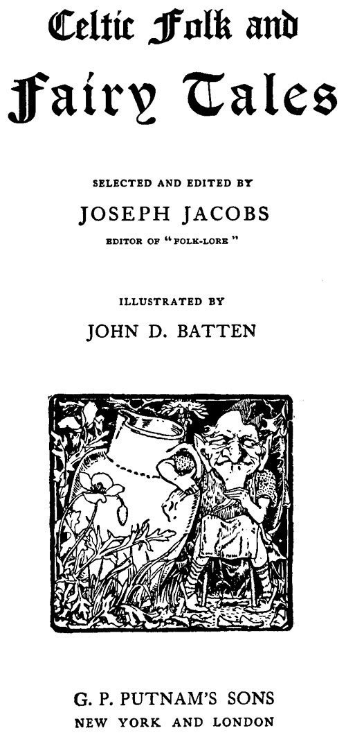 A picture of the author Joseph Jacobs