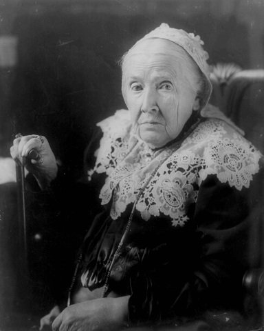 A picture of the author Julia Ward Howe