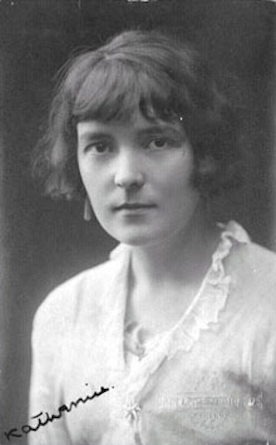 A picture of the author Katherine Mansfield