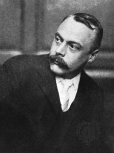 A picture of the author Kenneth Grahame