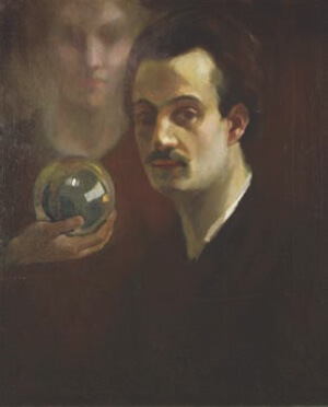 A picture of the author Kahlil Gibran