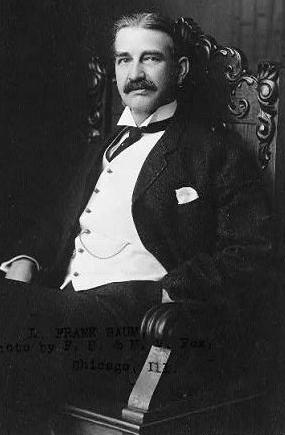 A picture of the author L. Frank Baum