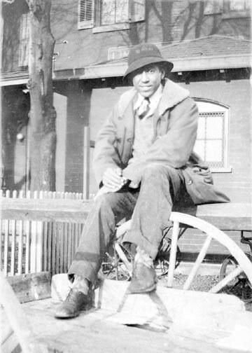 Langston Hughes at Lincoln University, 1928