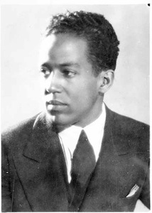 A picture of the author Langston Hughes