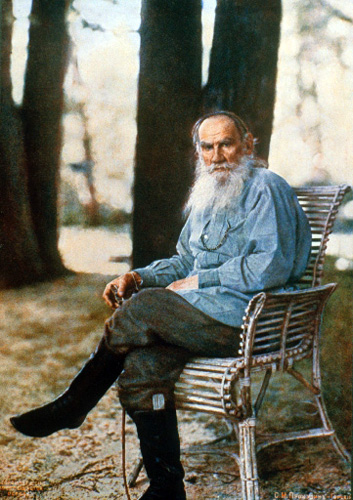 A picture of the author Leo Tolstoy