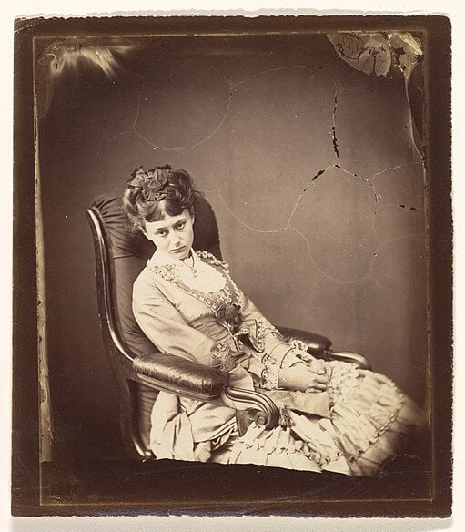 Lewis Carroll's photograph of Alice Liddell, The Last Sitting, 1870