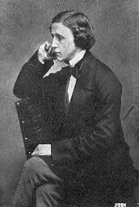 A picture of the author Lewis Carroll