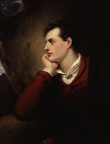 A picture of the author Lord Byron