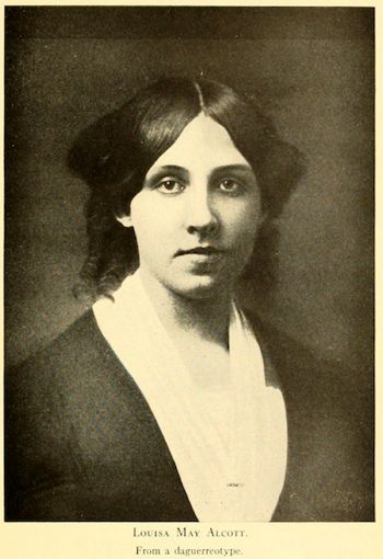 A picture of the author Louisa May Alcott