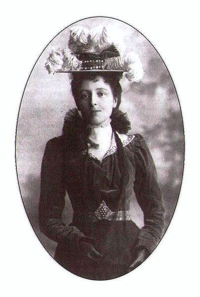 A picture of the author Lucy Maud Montgomery