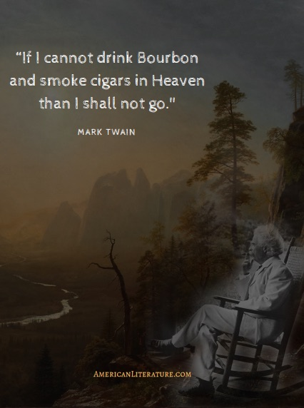 Mark Twain quote bourbon