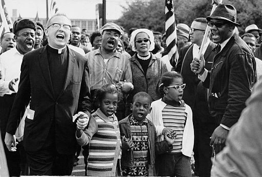 Selma to Montgomery March with Abernathy family