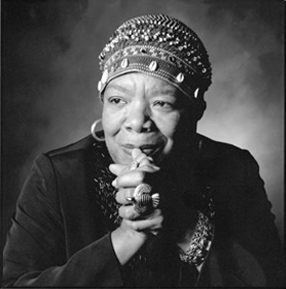 A picture of the author Maya Angelou