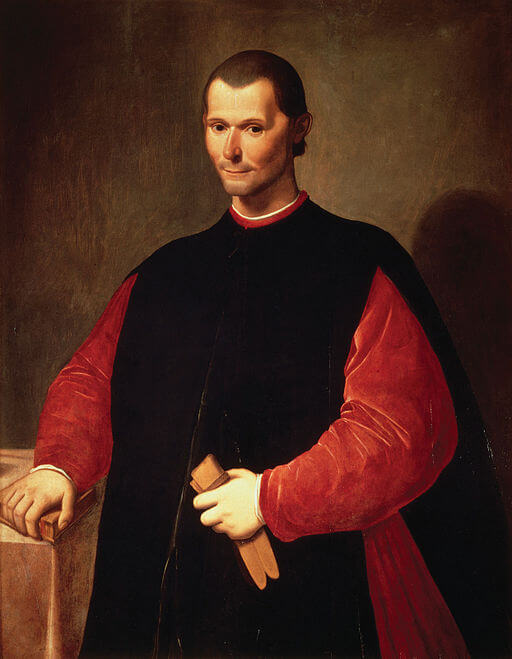 A picture of the author Niccolo Machiavelli