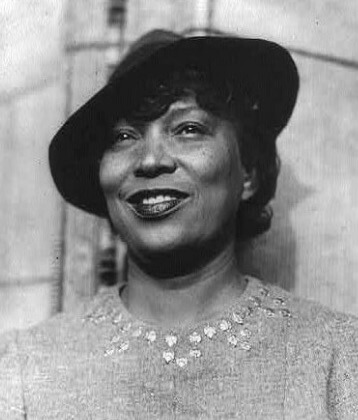 A picture of the author Nora Zeale Hurston