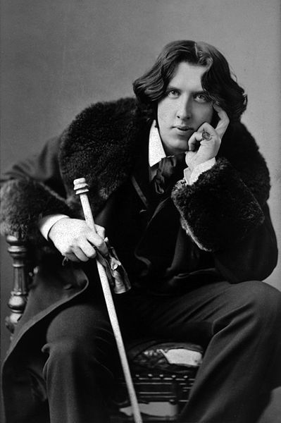 A picture of the author Oscar Wilde
